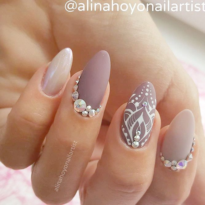 21 Hot Almond Shaped Nails Colors to Get You Inspired to Try ❤️ Timeless Nudes picture 3 ❤️ Do you have almond shaped nails? If not, you should try this nail shape right now. And then embellish it with one of these trendy colors https://naildesignsjournal.com/almond-shaped-nails-colors/ #nails #nailart #naildesign #almondnails