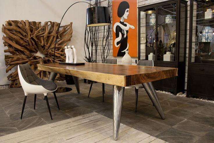 Tavoli : CINTA tavolo Suar massello