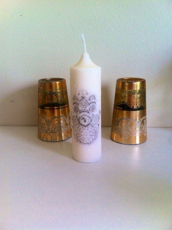 Bougie colza artisanale main de fatma khamsa ramadan ou d coration mariage musulman par - Bougie main de fatma ...
