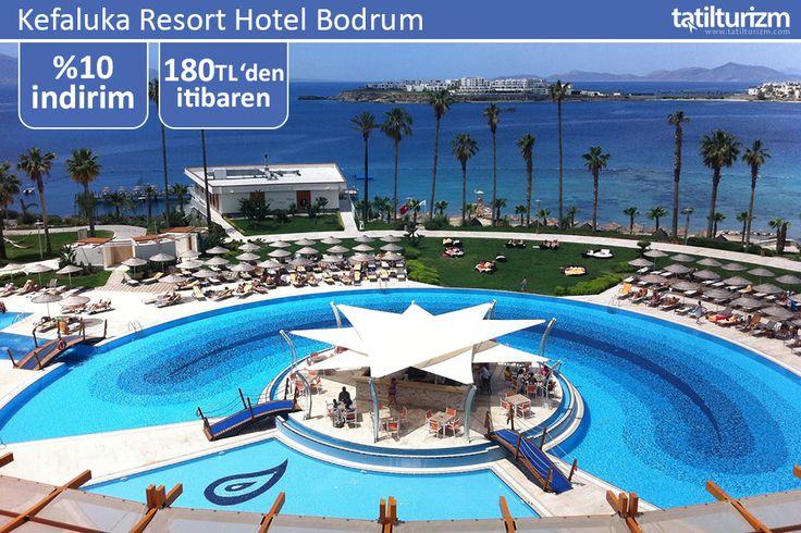 Turgutreis mevkiindeki Kefaluka Resort Hotel Bodrum'da hem dünya mutfağının zengin lezzetlerinin tadını çıkarabilir, hem özel plajında keyifti bir tatil geçirin.
