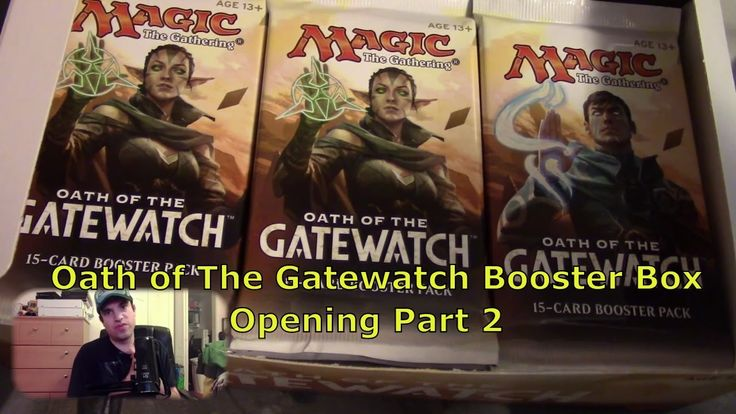 Magic the gathering:Oath of Gatewatch Booster Box Opening Part 2/4. (By:...