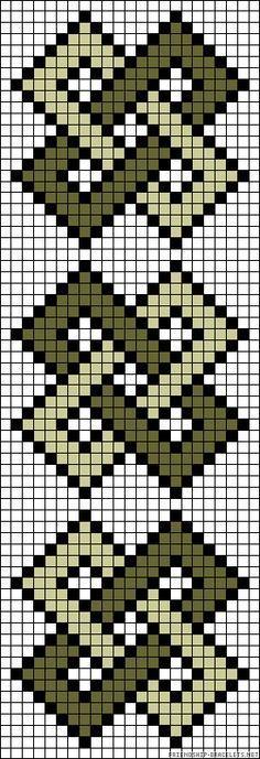 A57256 - friendship-bracelets.net good idea for arranging crocheted squares.
