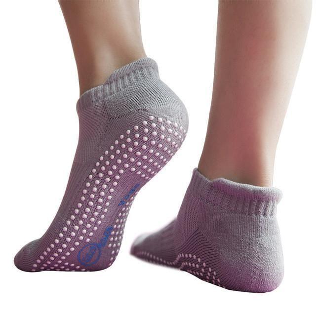 2 Pairs/Lot Men Women Yoga Socks Antiskid