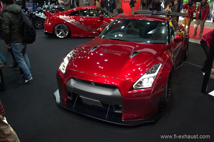 nice burgundy red wide body nissan r35 gtr nissan. Black Bedroom Furniture Sets. Home Design Ideas