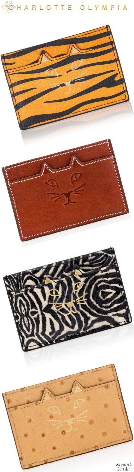 Charlotte Olympia 2016 - Feline Card Holders