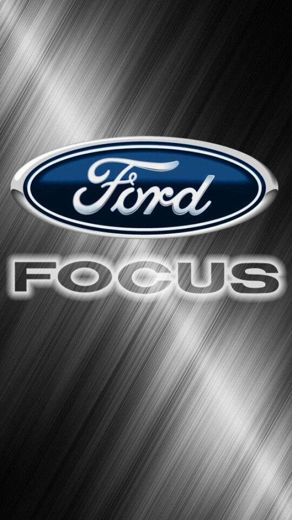 Ford Focus Logo : focus, #ford, #fondos, Trucks,, Focus,