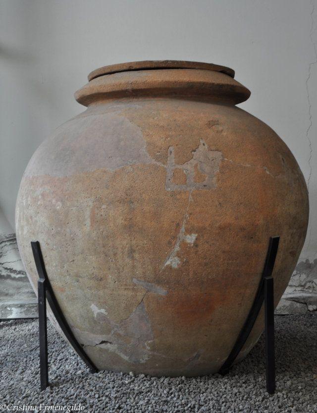 Dolium conservato nell'Antiquarium di Boscoreale