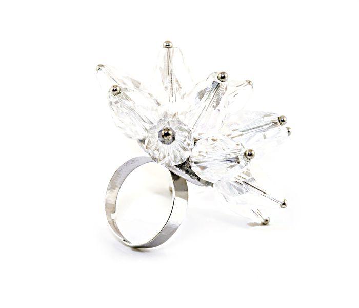 Bizsu Gyűrűk Elinor ezüst