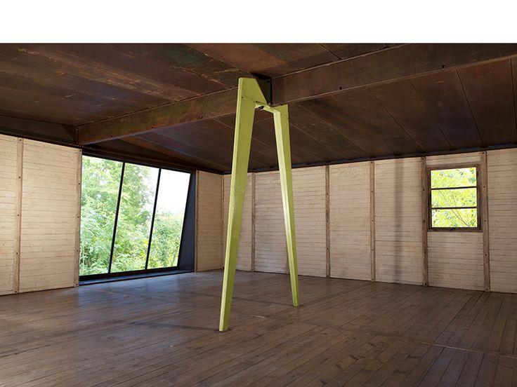 Jean Prouvé 8 x 8 m Demountable house, 1945