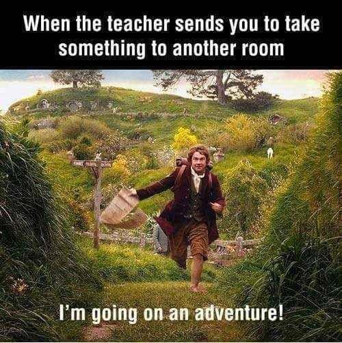 Messenger, the most popular classroom job. The 61 Best Teacher Memes On The Internet