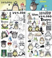 1 Levha/set Anime Studio Ghibli TOTORO Çıkartmalar Geçici Vücut Dövme Su Geçirmez Çocuk Modeli Hayao Miyazaki etiket için(China (Mainland))