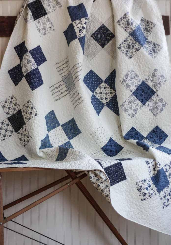25+ Best Ideas About Blue Quilts On Pinterest