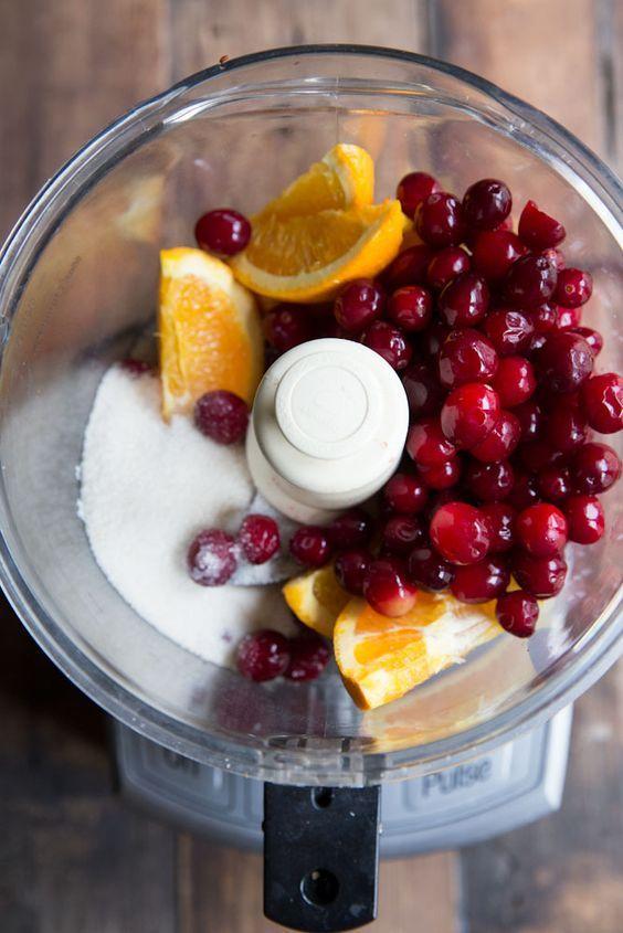 Thanksgiving 3 Ingredient Cranberry Orange Relish
