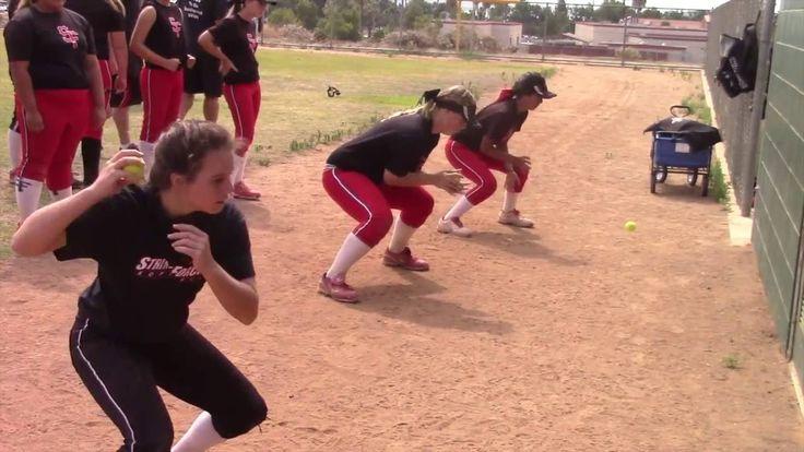 CA Firecrackers - Softball Skills Clinic with Lauren & Jackie Sweet. Emi...