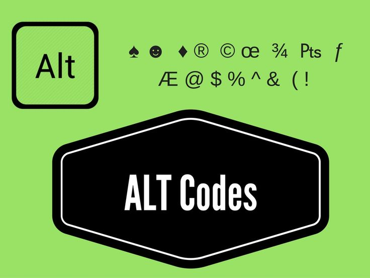 Here is a Hug list of ALT Codes or Shortcut Keys. By using this codes you can get special characters instant. This is a best way to type special characters.