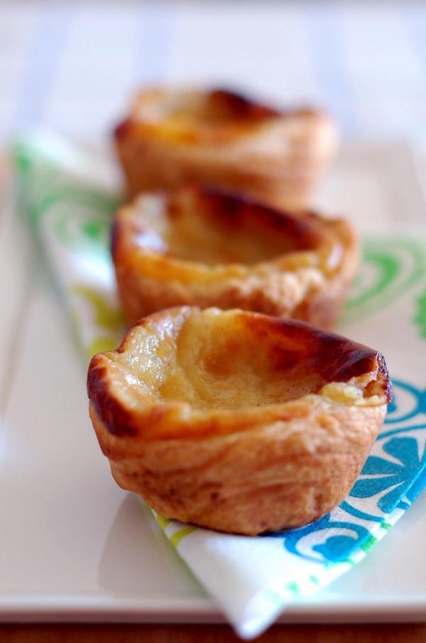 Portuguese Custard Tarts, Bill Granger #Portuguese #tarts #delicious