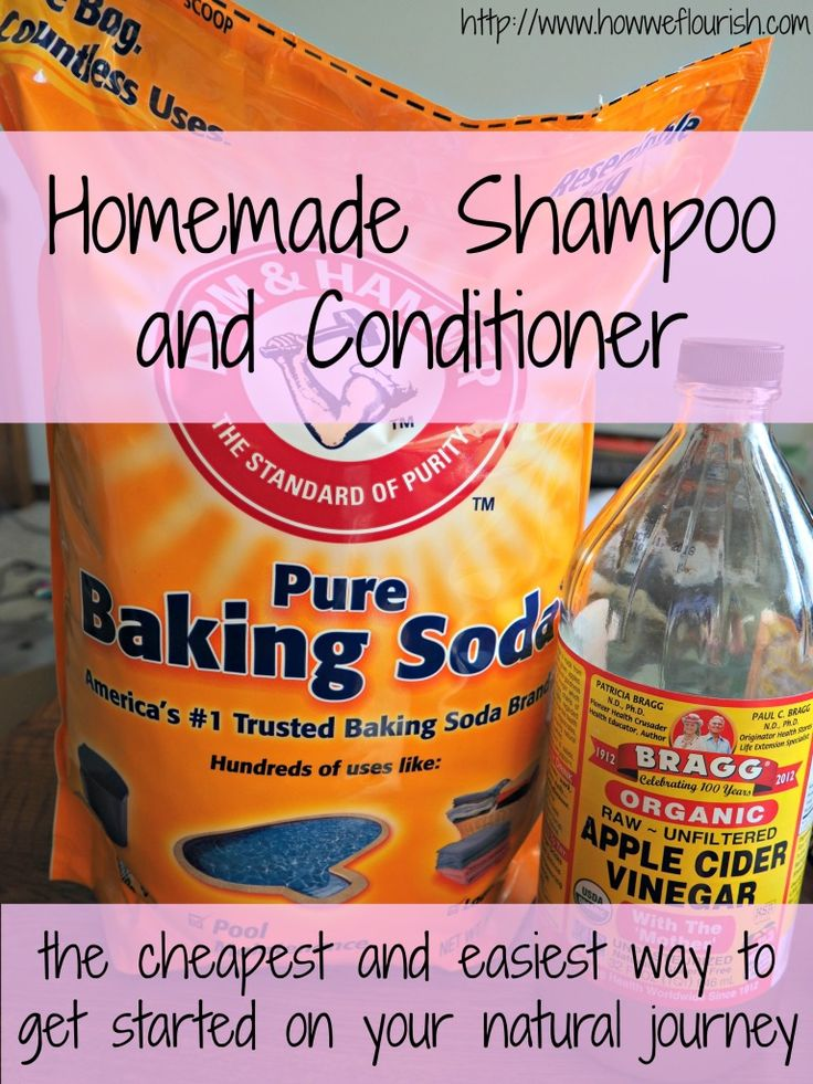 "Also known as ""no poo,"" this simple homemade shampoo and conditioner is an easy way to get started removing toxins from your life."