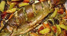 Fisch: Lachsforelle im Gemüsebett Rezept - Rezepte kochen - kochbar.de - mobil