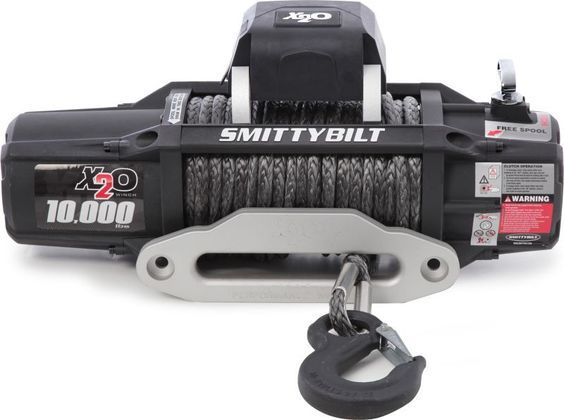 Smittybilt X2O-10 Comp Gen2 Winch with Synthetic Line | Jeep Parts and Accessories | Quadratec