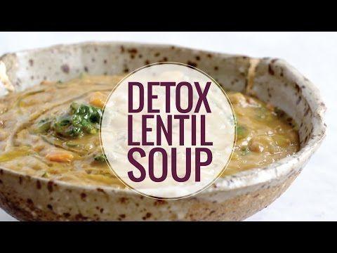 The Best Detox Crockpot Lentil Soup - Pinch of Yum