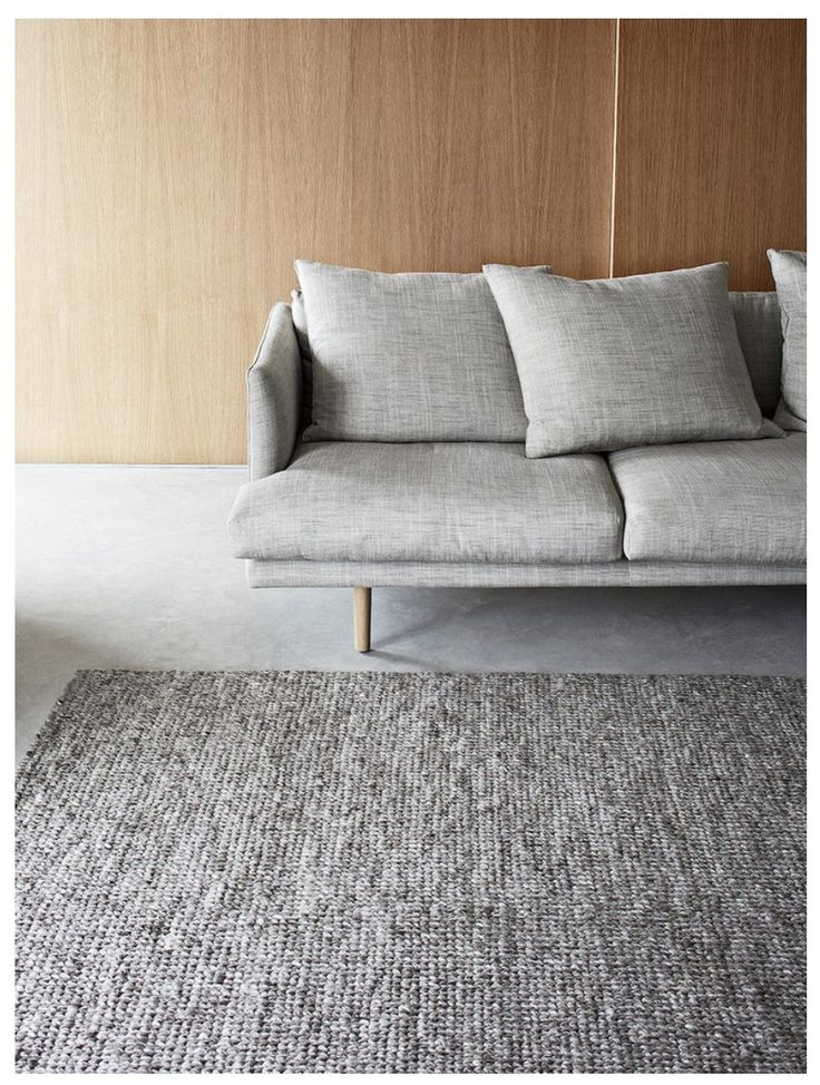 Curious Grace - Pumice Sierra, Armadillo Floor Rug hand woven in India from wool and viscose