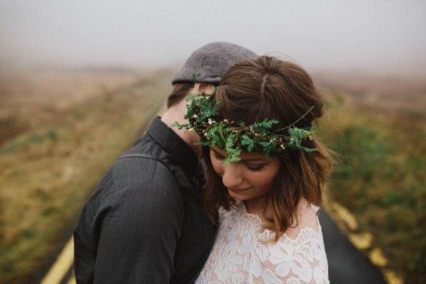 Foggy Honeymoon in Ireland