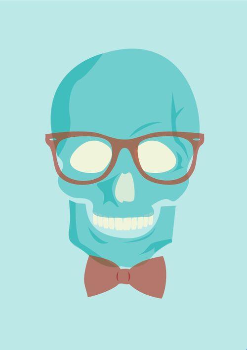 ♣ Hipster skull ♥