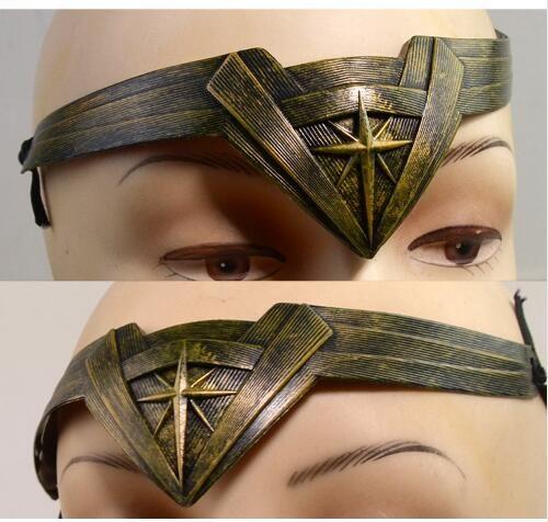 2017 Movie Wonder Woman Headwear Cosplay Superhero Headband Props Headdress Costume Accessory #Affiliate
