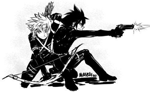 Ventus and Vanitas from Kingdom Hearts