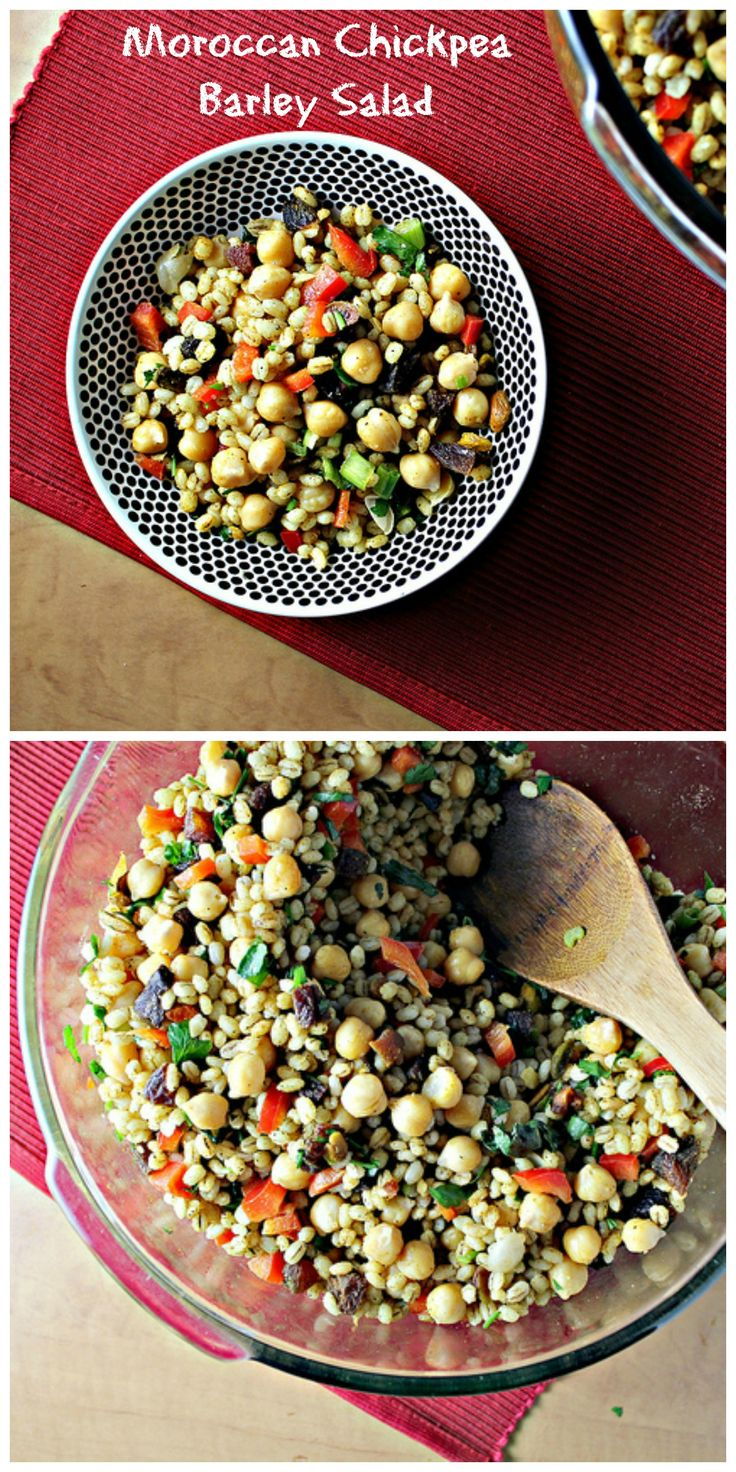 Moroccan Chickpea Barley Salad...Eat.Live.Be. for a Better 2011