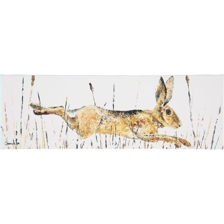 White Rabbit Wall Art Canvas - TK Maxx