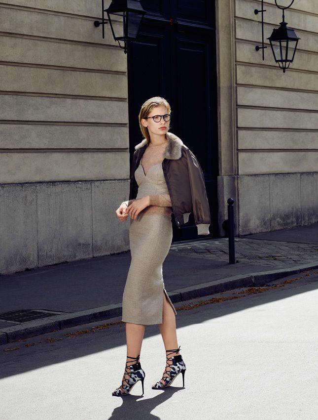 Осенний гардероб, приглушенные цвета и минимализм в одежде, макияже и прическе | Glamour | Glamour.ru