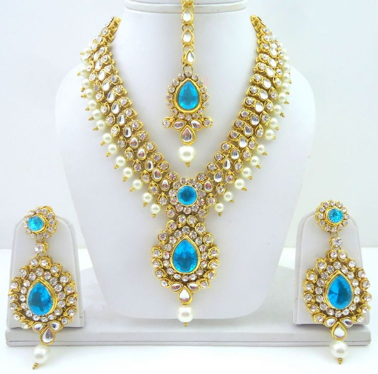 Designer Bollywood Gold Tone Jewelry Studded With Crystal & Cz. We can work on that designs and bring them for you. Your all thoughts and. Note: We do not accept cash foreign currency or personal checks. | eBay!