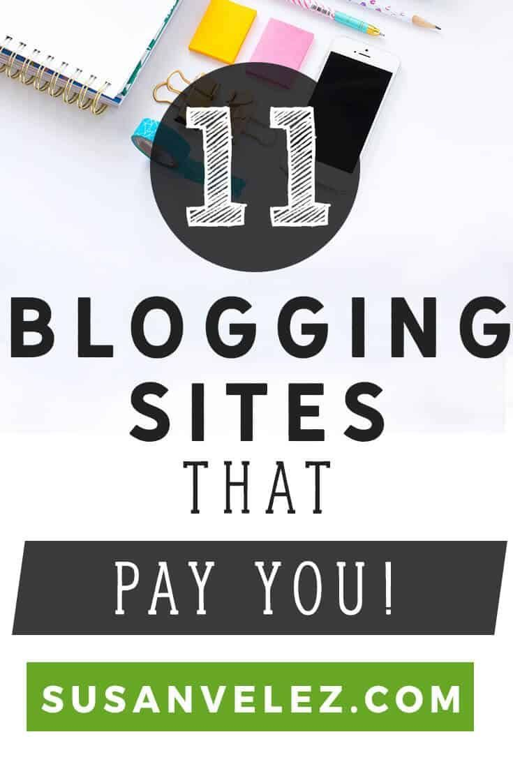 Blogging sites that pay you good money for your articles are real. Monetizing a blog can be a challenge. Have you ever thought about selling your content to blogging sites that pay good money? If not then after you read this post, you might just  consider it. https://susanvelez.com/blogging-sites-that-pay/ via @susanwptutorial