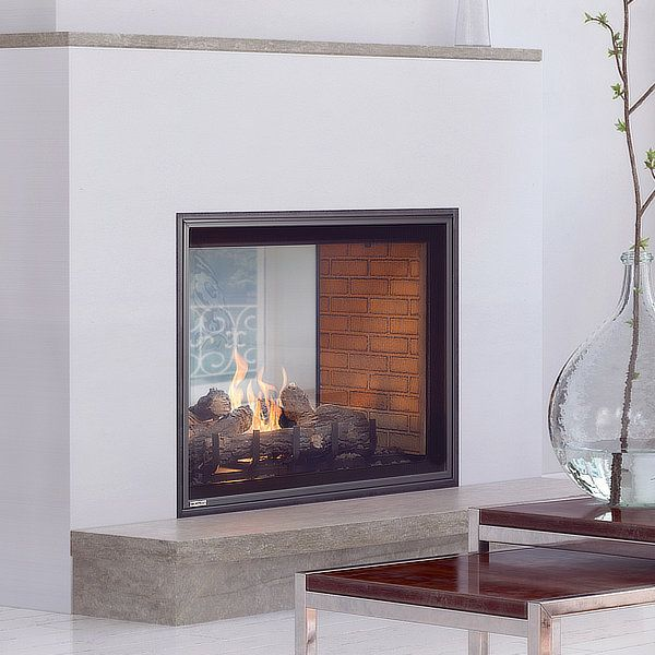 Montigo H42fsd See Through Direct Vent Gas Fireplace Woodlanddirect Com Indoor Fireplaces Gas In 2020 Vented Gas Fireplace Direct Vent Gas Fireplace Gas Fireplace