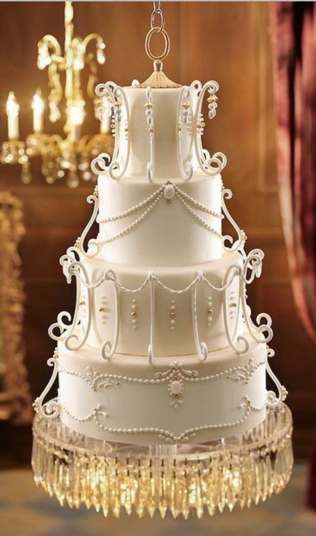 Wedding cake. Very Phantom of the Opera-style.
