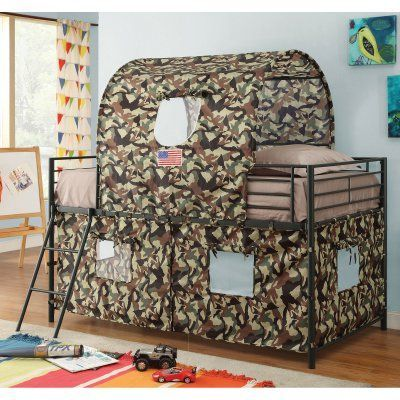 Coaster Furniture Bunks Camouflage Tent Loft Bed - 460331