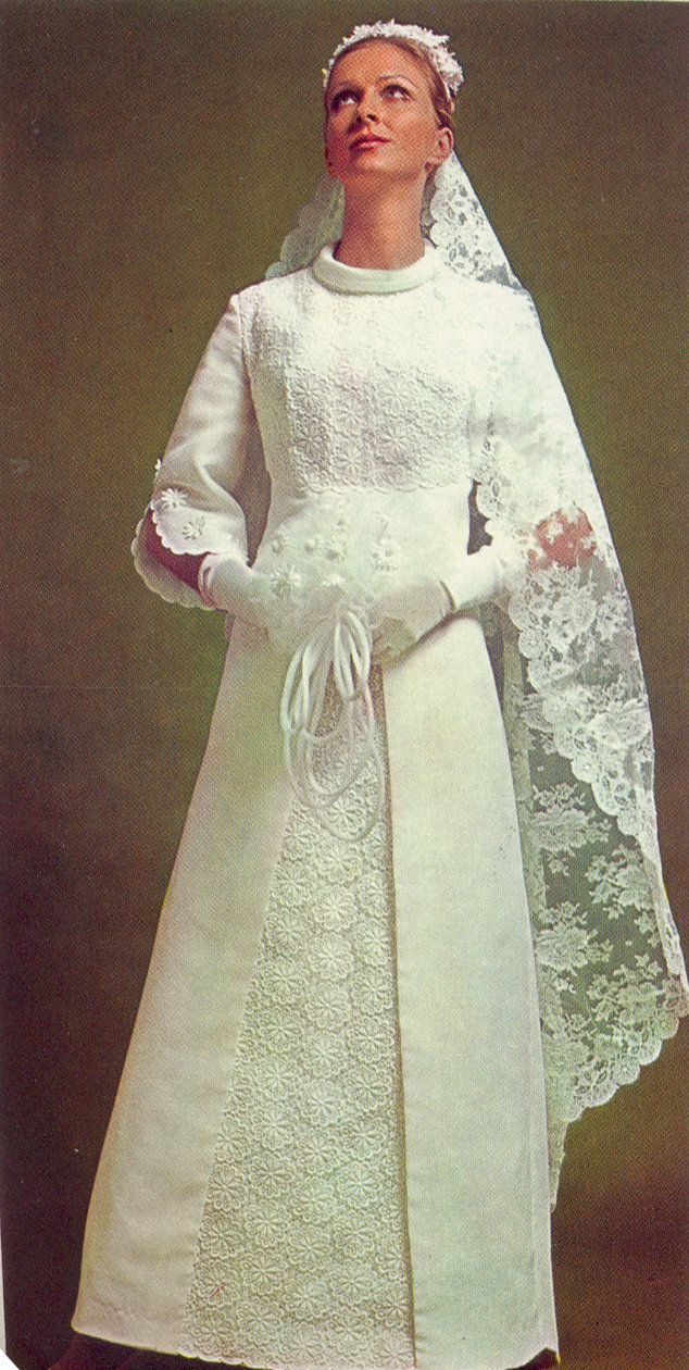 124 best images about 1970 wedding gowns on pinterest for 1970s vintage wedding dresses