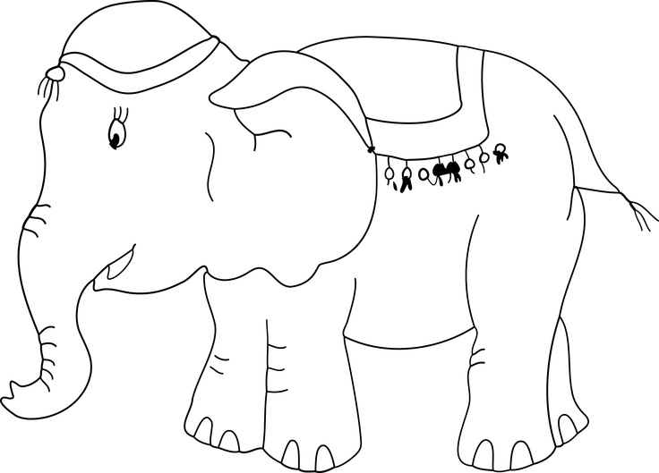 Color Saru, doesn't he look like a handsome and a cute elephant! A pintar en Saru!!!