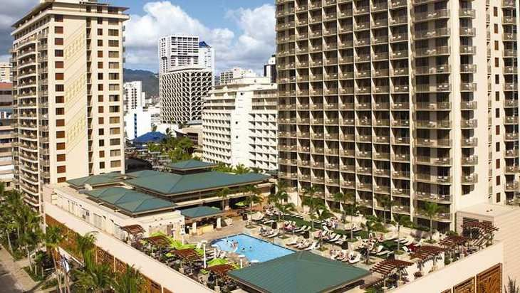 The stars aligned and I was able to get back to my own persona Shangri-La and stay at the Embassy Suites Waikiki.
