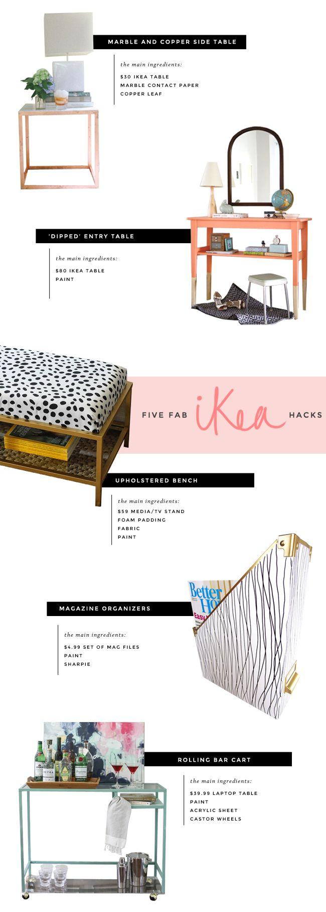 5 Ikea Hacks I Want to Try