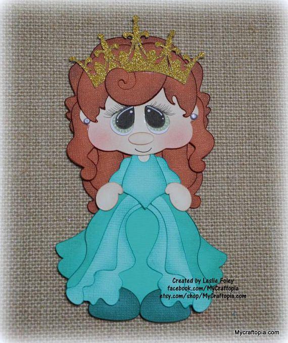 Little Mermaid Ariel  Disney Princess Premade Scrapbooking