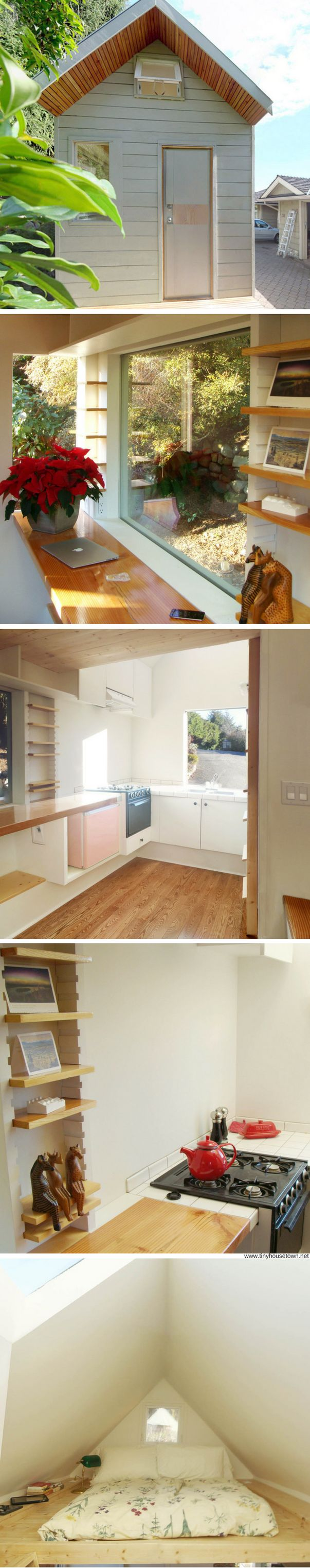 The Lighthouse: a 100 sq ft tiny house made in Canada