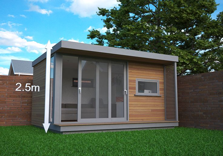 A visual guide to garden office Permitted Development - Garden Office Guide
