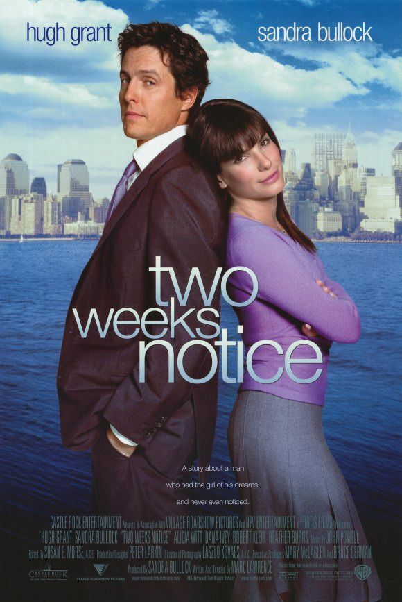 Two Weeks Notice posters for sale online