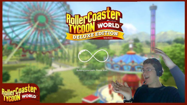 Rollercoaster Tycoon World Ep01 - Un Sogno Che Si Avvera [Primo In Itali...