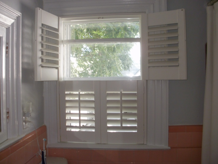 Double hung shutters beautiful window treatments from for Window treatments for double hung windows