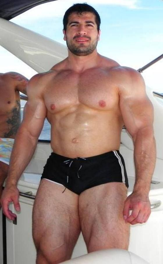 from Konnor gay hairy muscular men