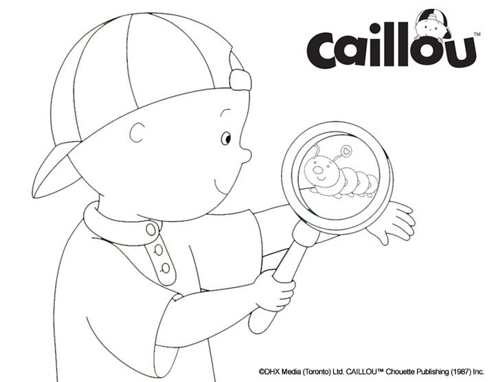 144 best Caillou Activities & Printables! images on