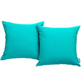 Gather Sunbrella Outdoor Patio Pillow (Set of 2) | Overstock.com Shopping - The Best Deals on Outdoor Cushions & Pillows